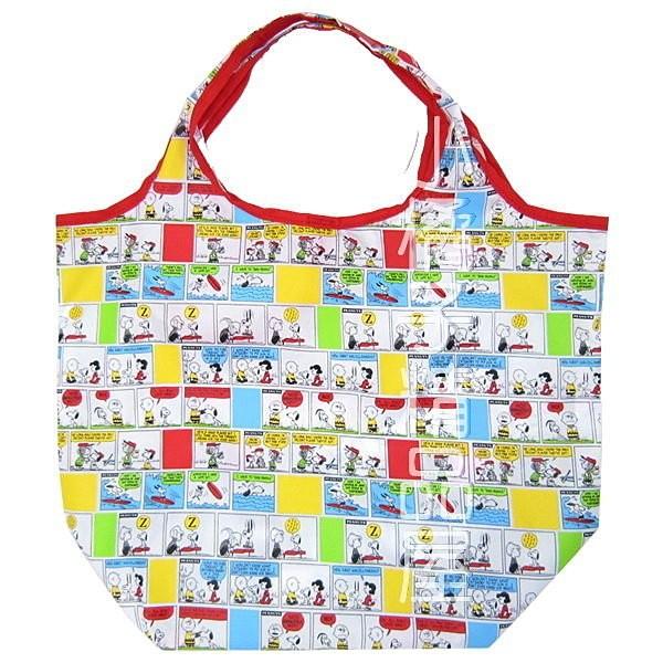 史努比史奴比朋友漫畫款尼龍折疊 袋側背袋手提袋手提包收納袋395838