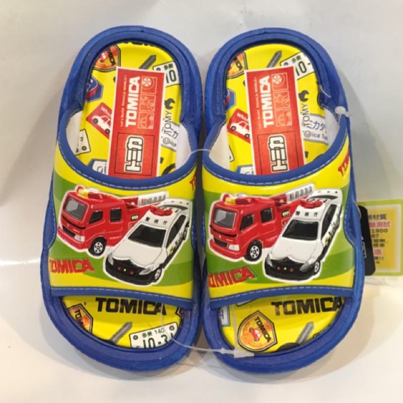 多美小汽車休閒舒適拖鞋童鞋