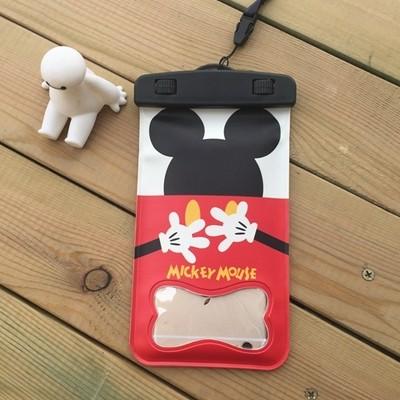 雜貨迪士尼米奇iphone6 s plus 防水袋