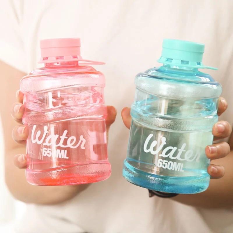 可愛飲水機水桶迷你學生便攜桶裝水隨手杯兒童大容量水杯