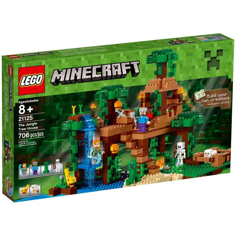 ~積木樂園~樂高LEGO 21125 Minecraft 創世神系列The Jungle