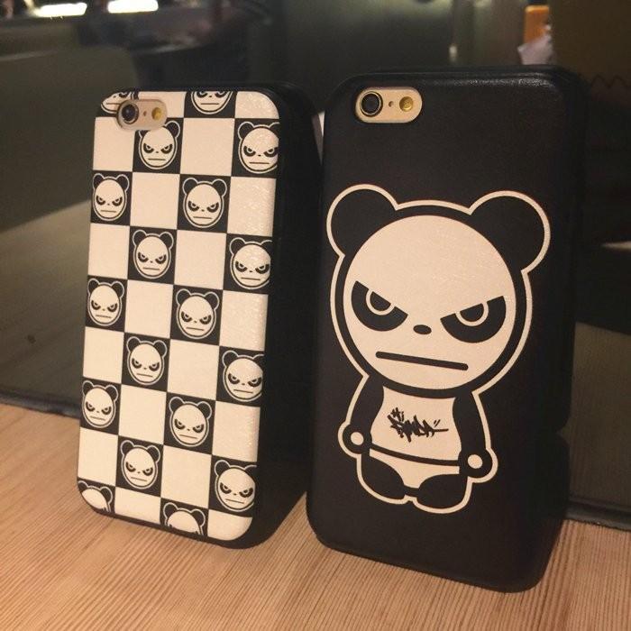 ~潮人最愛~權志龍hipanda 熊貓人iphone5s 6s plus 手機殼全包防摔磨