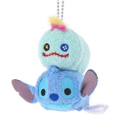B Little World 東京迪士尼 限定 迷你TSUM TSUM 吊飾史迪奇東京連線
