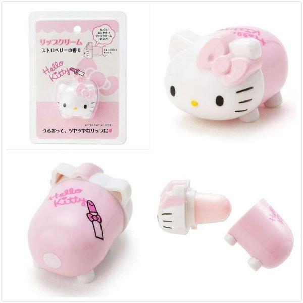 三麗鷗Hello Kitty 凱蒂貓Melody 美樂蒂蛋黃哥立體 護唇膏