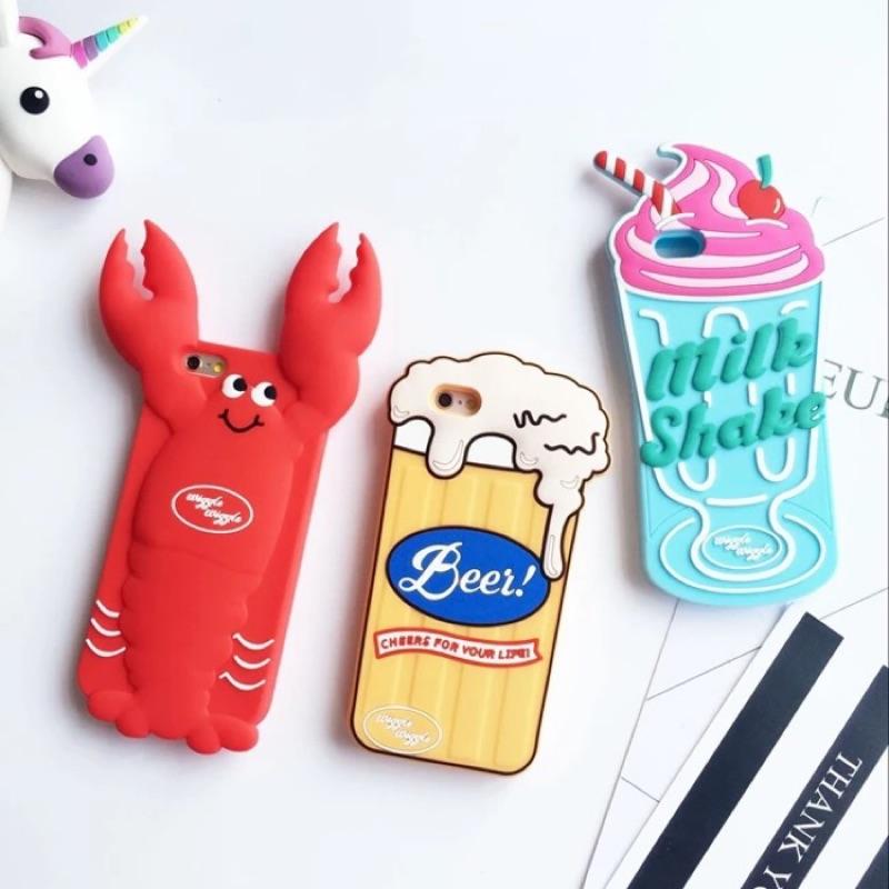 IPHONE7 ➡️ ✨NI COM 韓國龍蝦啤酒雪糕立體手機殼