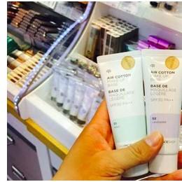 韓國 ~The Face Shop 植物隔離霜紫色綠色防曬妝前乳提亮韓國隔離霜防水隔離紫外