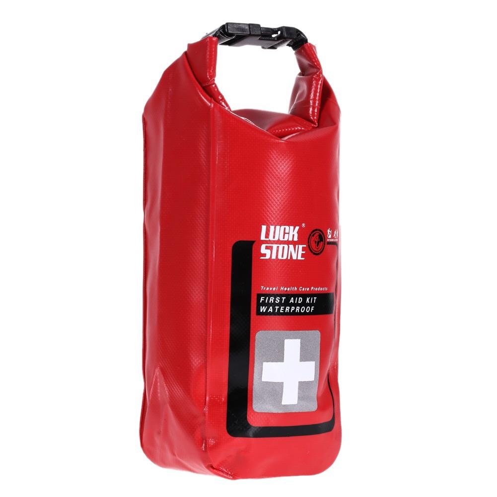 戶外急救包MINI 應急防水袋醫療包防水收納包2L 紅色