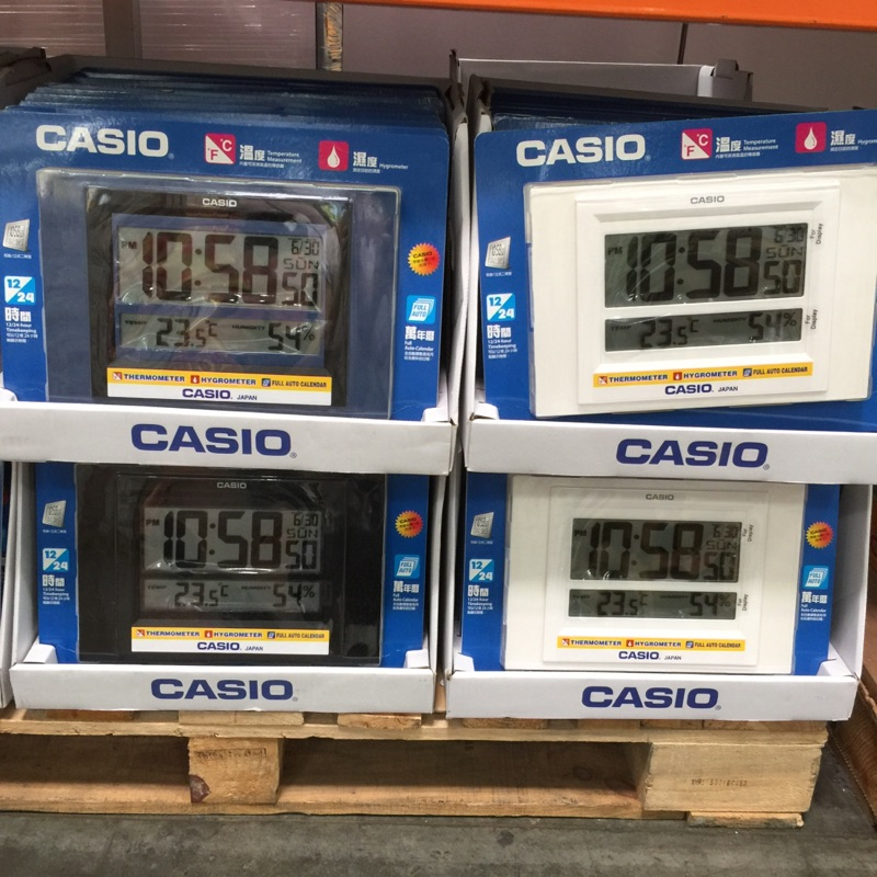 Casio 卡西歐數字型掛鐘ID 16