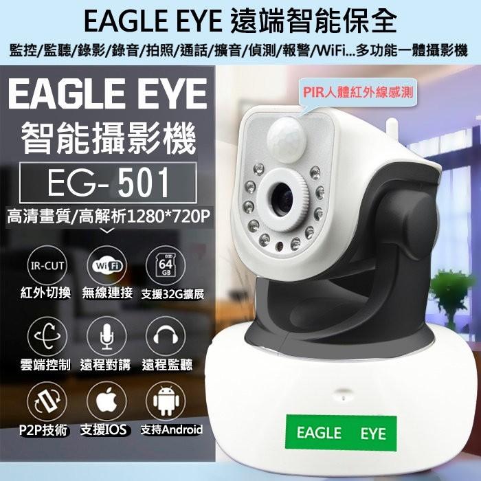超 P2P 攝影機EG 501 無線IP Cam 旋轉插卡錄影遠端監聽手機監視寵物監看