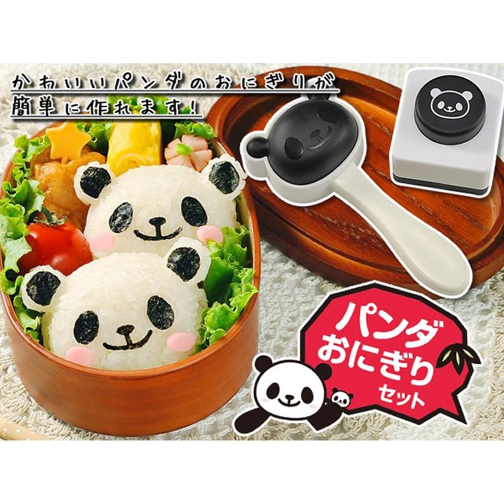 ❤❤熊貓飯糰模具套裝 ❤可愛❤卡哇伊❤壽司材料工具海苔夾紫菜壓花器
