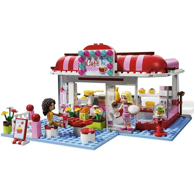 ~積木天堂~博樂女孩Friends 系列10162 城市公園咖啡廳相容樂高LEGO 積木