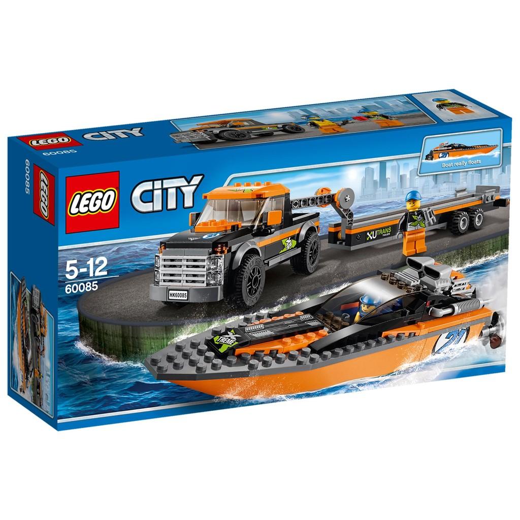[想樂] 樂高Lego 60085 City 城市系列4x4 汽艇4x4 with Pow