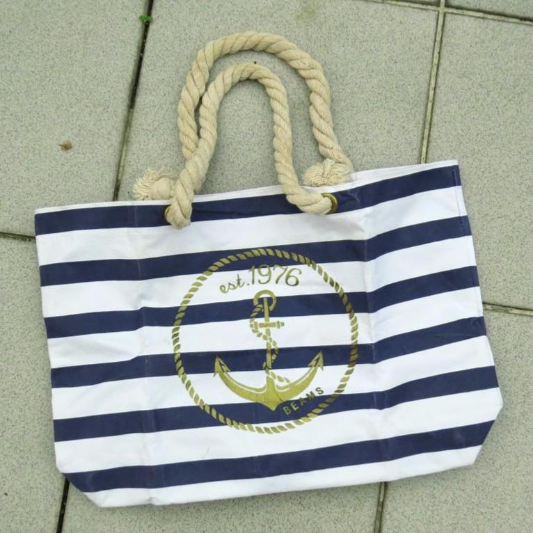 日雜海軍風海洋風手提包
