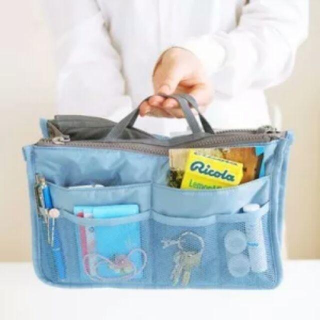 韓國 ~❴加厚❵超大容量包中收納袋~意想不到超級大容量~媽媽包內 神奇收納袋