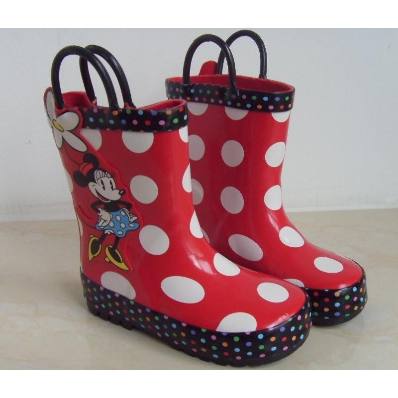 廠商直銷高檔米奇鼠兒童雨鞋中筒兒童雨鞋防滑雨鞋