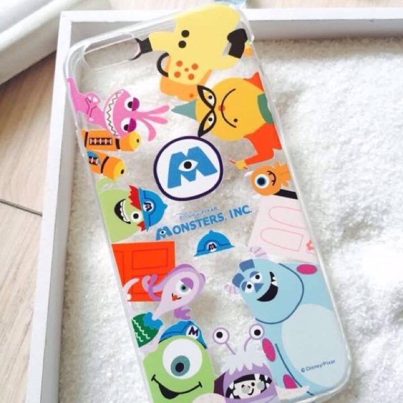 iPhone 5 5S 6 6S 怪獸大學手機殼 迪士尼軟殼