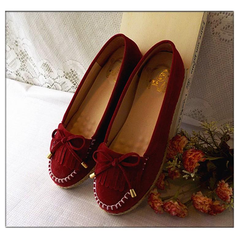 娃娃鞋平底鞋懶人鞋包頭鞋休閒鞋學生鞋淺口圓頭平底包鞋學院風綁帶豆豆鞋鞋子