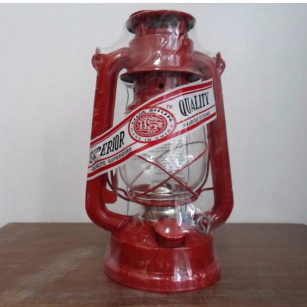 嘉億 復古式煤油燈紅色