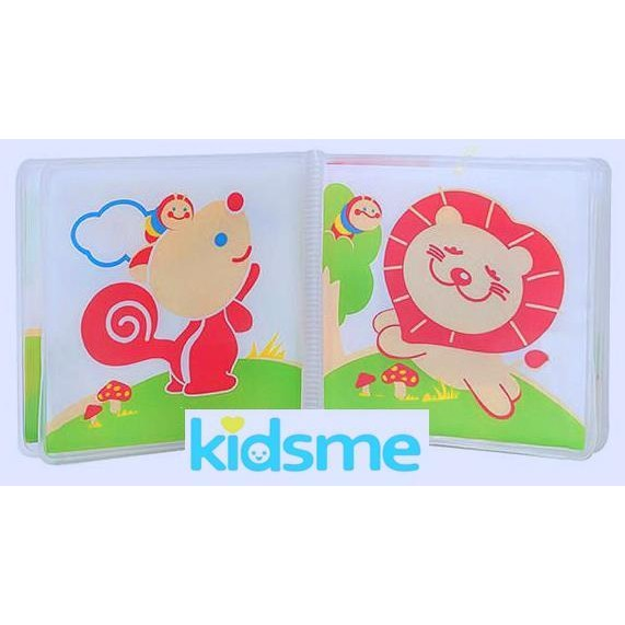Kidsme 沐浴故事書動物系列洗澡玩具