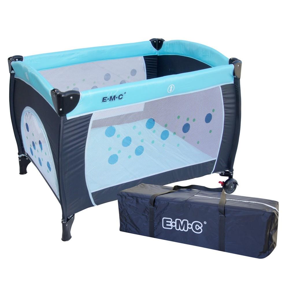 限用宅配~EMC 嬰幼兒遊戲床蚊帳收納袋不含雙層床架及尿布架貨到 免