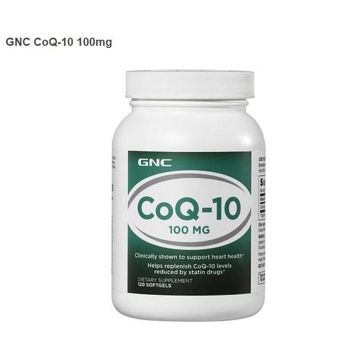 ☀陳媽媽小舖 GNC Co Q10 輔酵素輔酶Q 10 100mg 120 顆