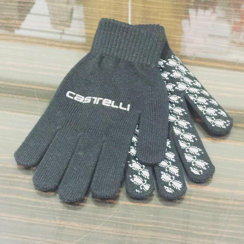 Castelli 男款矽膠止滑手套