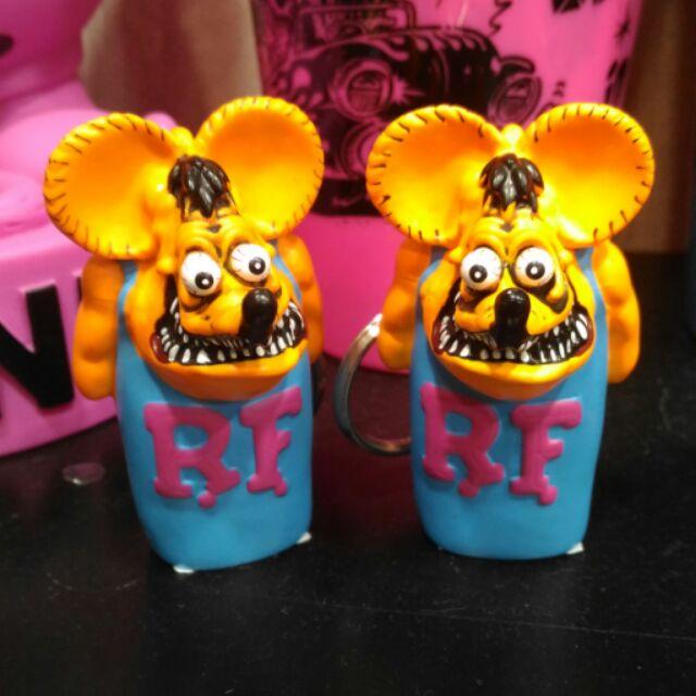 RF RatFink 老鼠芬克鑰匙圈打火機套吊飾