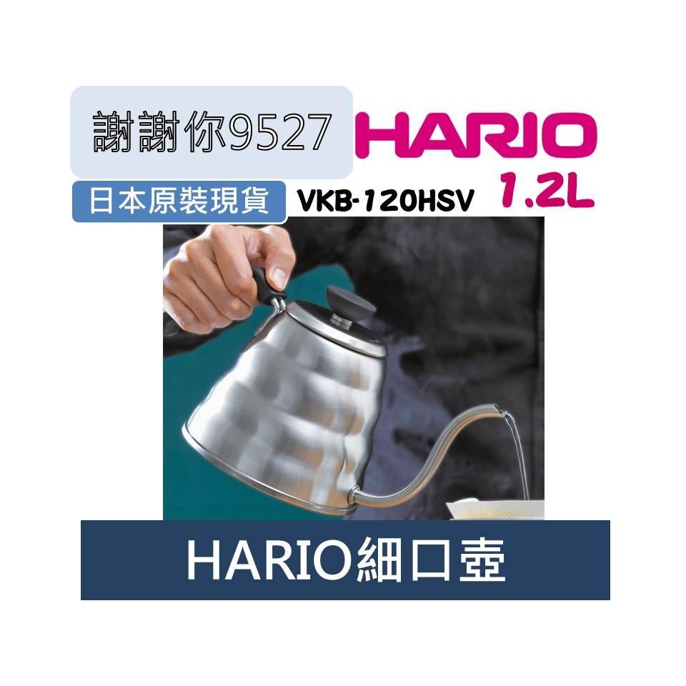 HARIO Buono VKB 120 V60 不鏽鋼細口壺手沖壺雲朵1200ml1 2L