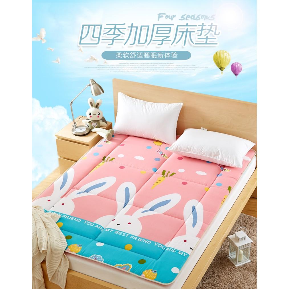 加厚塌塌米床墊單人床雙人床學生床墊可摺疊