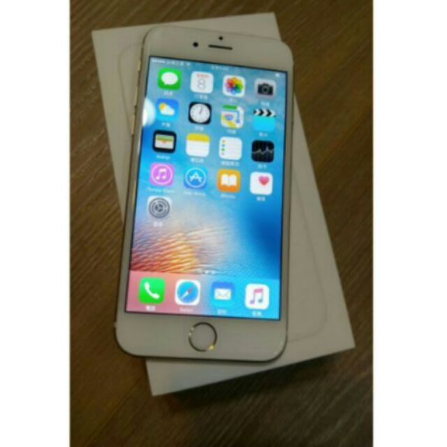 iphone6 128g 金色約9 5 成新已過 限台中面交