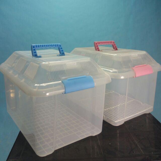 比爾德雙色外出籠保溫箱巢箱鳥籠鸚鵡籠 鸚鵡、小貓、小狗育雛繁殖鸚鵡