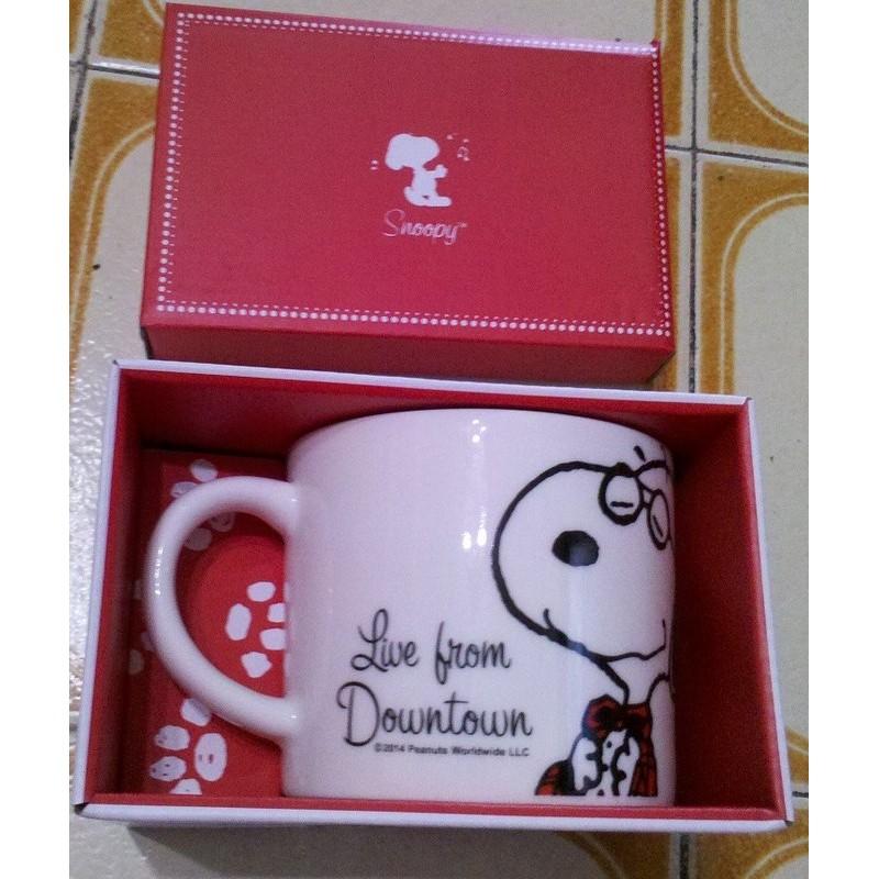 史努比Snoopy 爵士湯杯 420ml 骨瓷杯馬克杯史奴比SNOOPY 咖啡杯水杯茶杯微