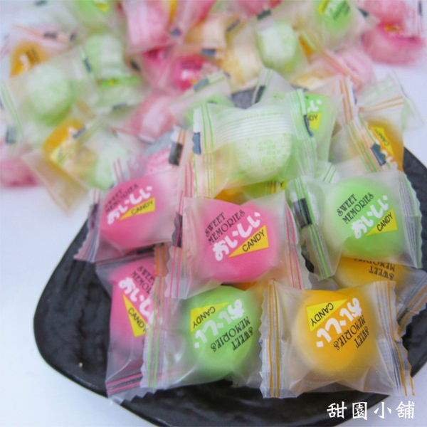 浪漫三色粉彩糖粉彩水果糖500g 五彩巧克力球超迷你彩球糖婚禮小物甜園小舖