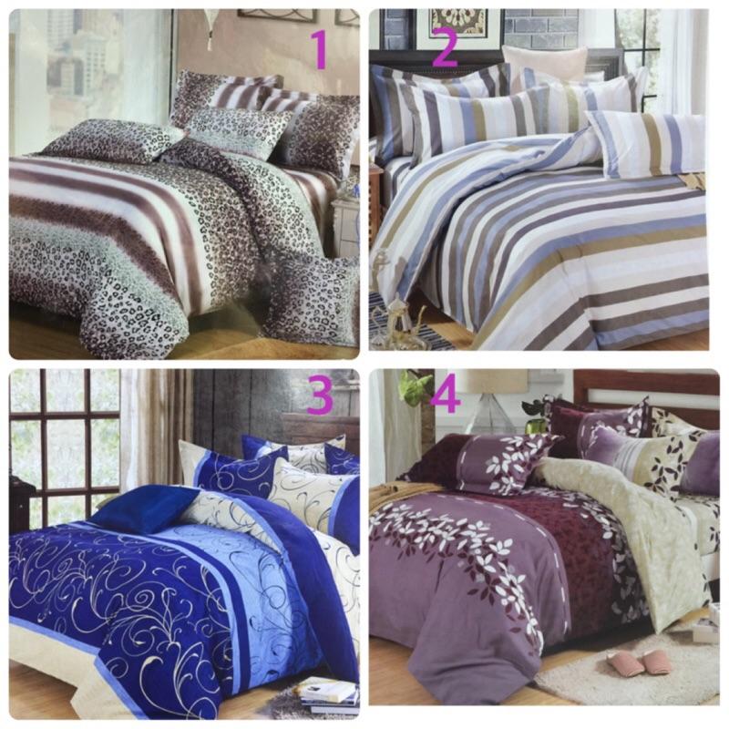 [來成]King size 薄床包組(6X7 尺特大)、含兩個枕套、涼被✅