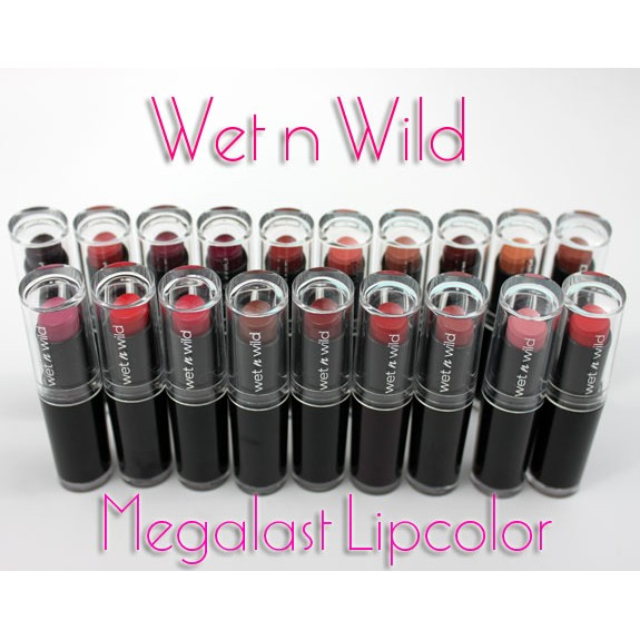 不用等Wet n Wild MegaLast Lip Color 唇膏脣膏唇彩 MAC 超
