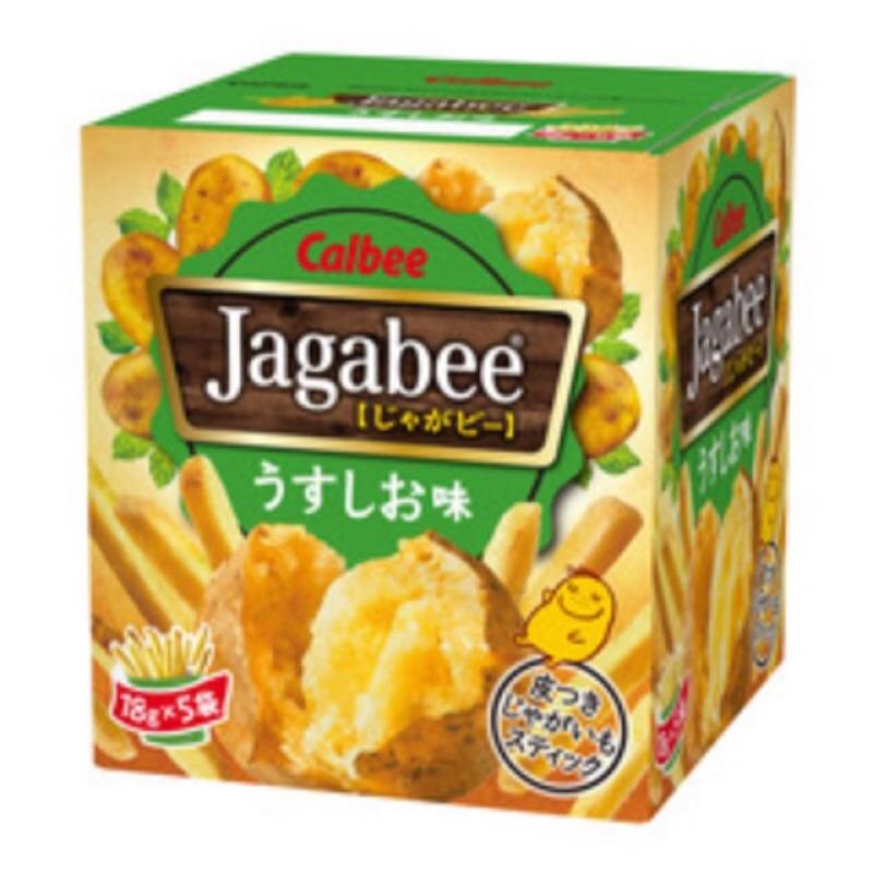 ( )Jagabee 鹽味薯條18g 5 袋