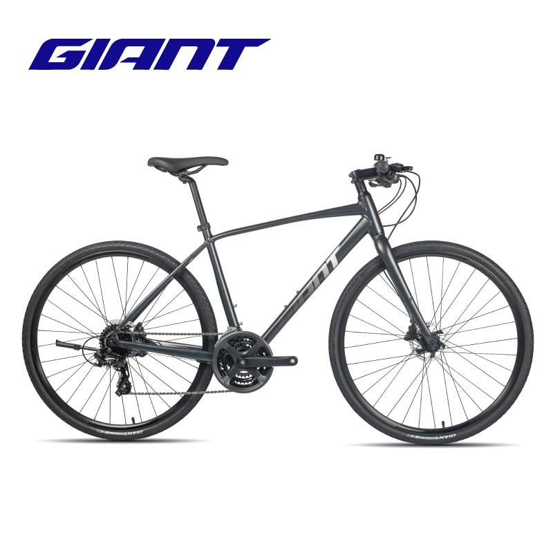 w3【滿220出貨】Giant捷安特Escape 1成人男城市休閑通勤24速健身平把公路自行車