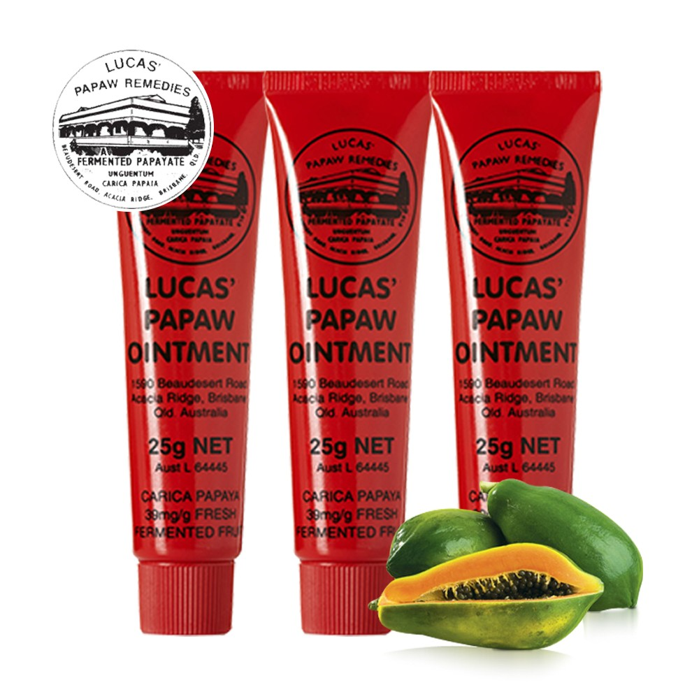 Lucas Papaw Ointment 200g Made In Australia Ep31206 Pure Pawpaw