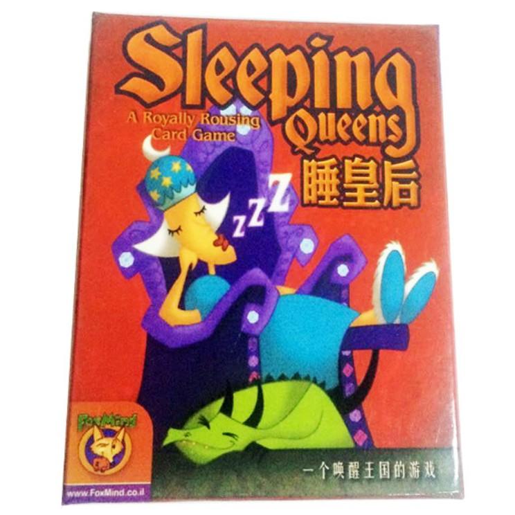 ~D B ~沉睡皇后sleeping queens 桌遊桌上遊戲派對遊戲聚會趣味遊戲出遊玩