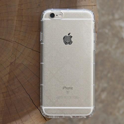 DEVILCASE 抗衝擊殼透明巴洛克iPhone 6 6s plus 5 5S 透明殼軟