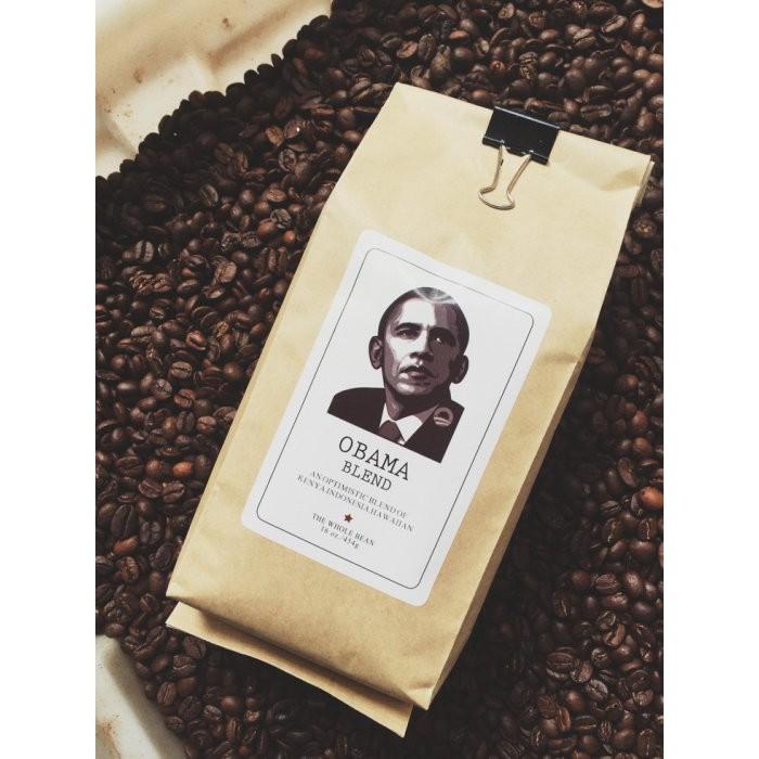曾喝過歐巴馬在喝的義式咖啡豆OBAMA FAVORITE COFFEE 來杯歐巴馬的最愛吧