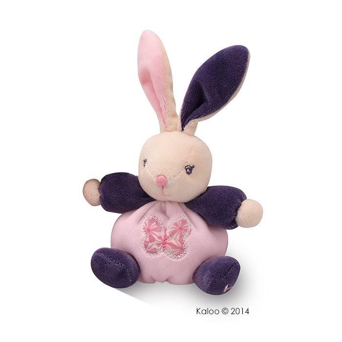 🌟全新絕版🌟正版🌟【 法國 Kaloo 】PETITE ROSE RABBIT 蝴蝶兔 迷你安撫玩偶