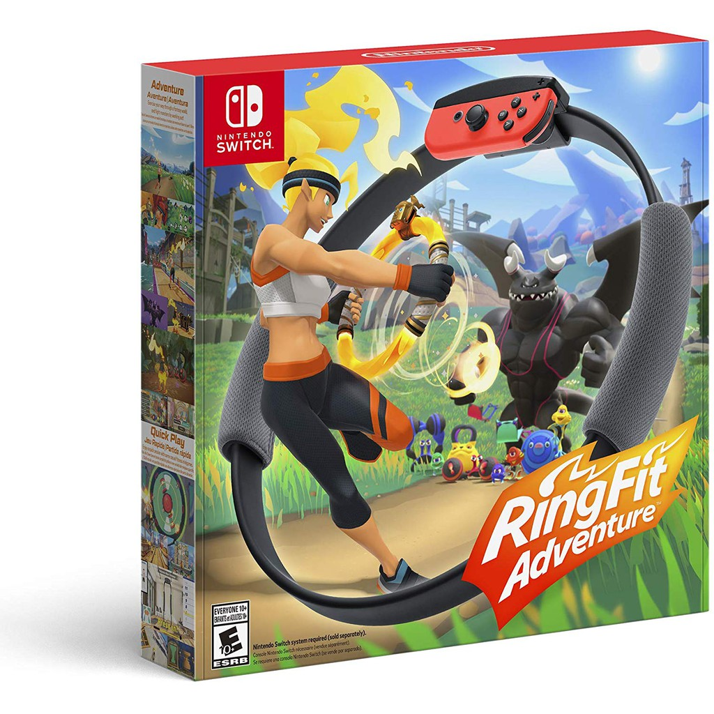 Nintendo 任天堂 Switch Ring-con 健身環大冒險 中文版