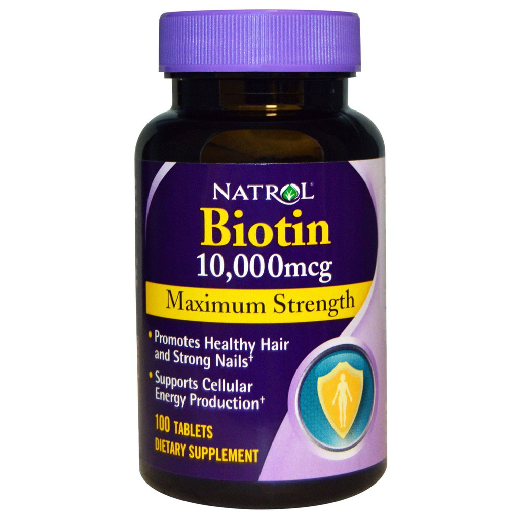 Natrol Biotin 強效生物素10000mcg 100 入
