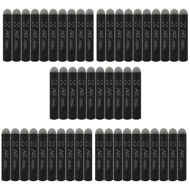 100 ×Nerf N strike 系列爆破玩具槍7 2 公分黑色填充子彈