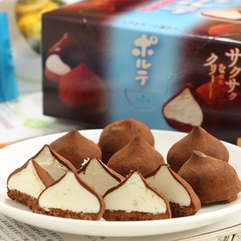 零食のMeiji 明治冬之戀松露牛奶可可味忌廉夾心巧克力