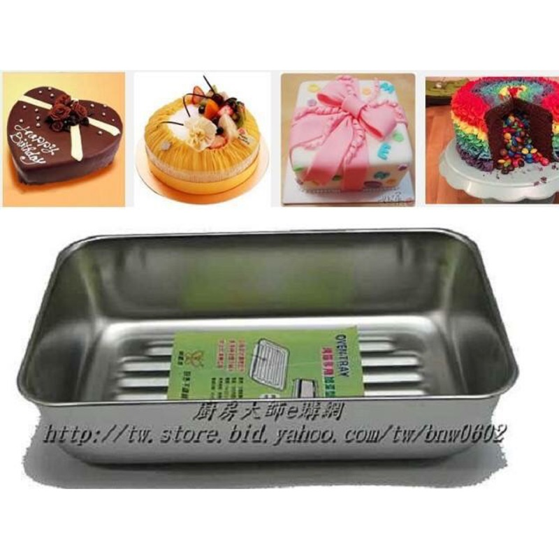 正304 不鏽鋼波浪加深烤盤烤箱烤盤不沾蛋糕模布朗尼模咖啡馬芬蛋糕模三明治模 6 連模8