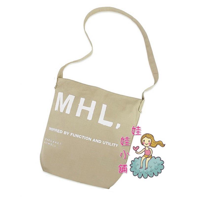Spring 日雜MHL 中性帆布包側背包斜背包肩背包帆布袋書包zakka 風字母包郵差包