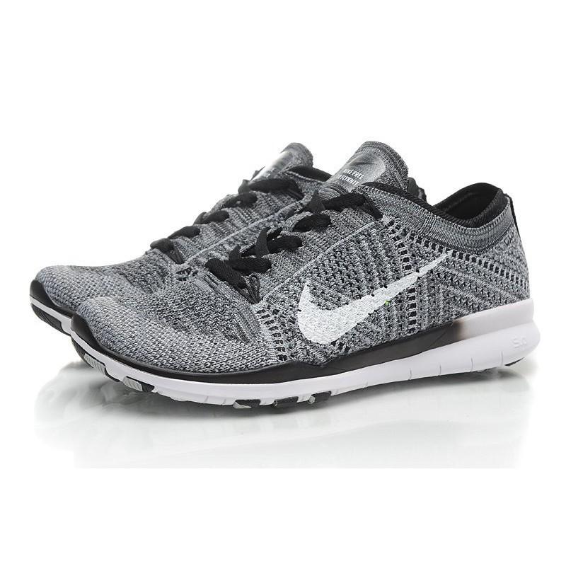 ~專櫃正品全場 ~美國直入Nike Free 5 0 飛線針織透氣舒適休閒鞋慢跑鞋情侶鞋灰