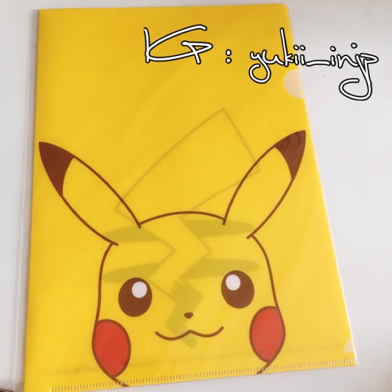 [ ] 帶回pokemon 皮卡丘臉部特寫L 夾資料夾